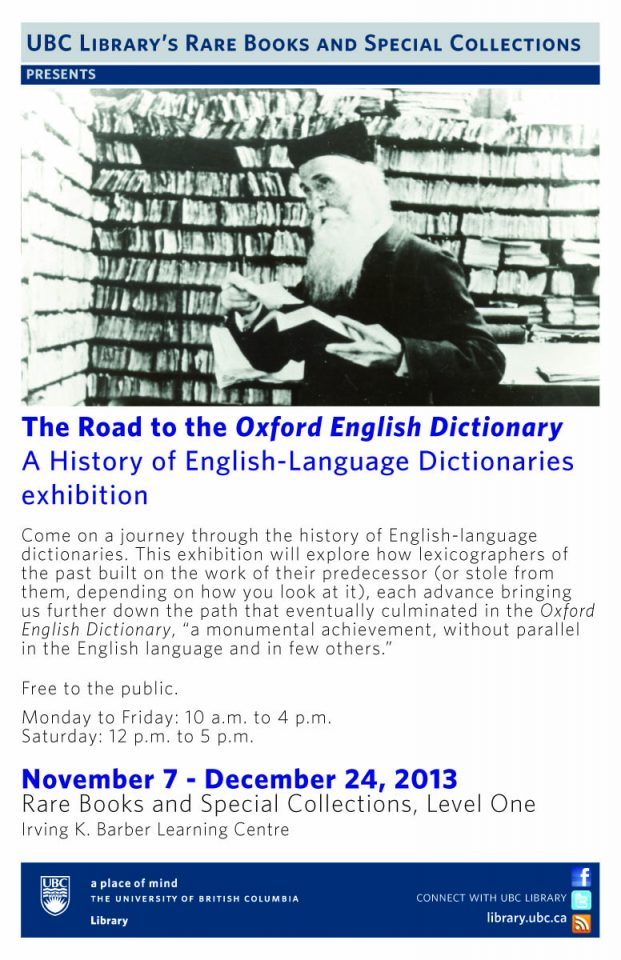 The Road to the OED: A History of English-Language Dictionaries