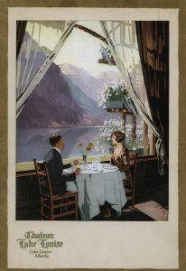 Chateau Lake Louise menu