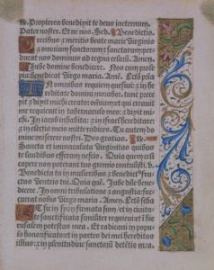 Image of Book of Hours fragment
