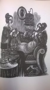 Jane Eyre, with wood engravings by Fritz Eichenberg, New York: Random House, 1943. PR4167 .J2 1943